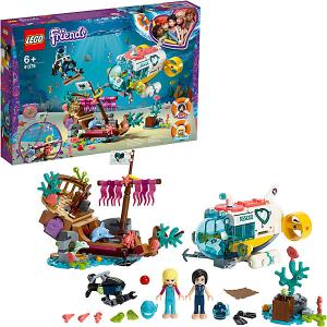 Конструктор  Friends Спасение дельфинов, арт 41378_1 LEGO. Цвет: разноцветный