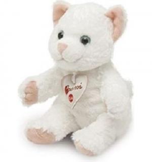 Мягкая игрушка  Белая кошка 20 см Trudi