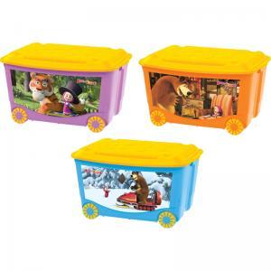 Ящик для игрушек  Детский, цвет: 90100118131 Бытпласт