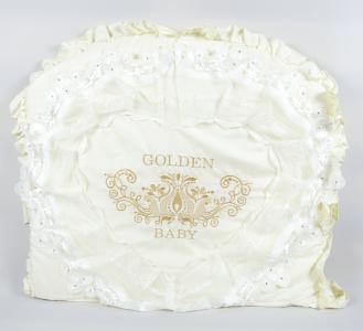 Комплект постельного белья  Lux 1818, цвет: бежевый 8 предметов Tizo
