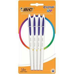 Ручка шариковая  «Cristal Up Fun», синий BIC. Цвет: синий