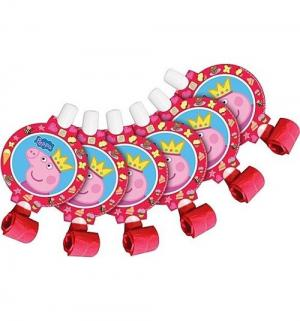 Язычки  Пеппа-принцесса 6 шт Peppa Pig