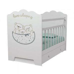 Детская кроватка  Love Sleeping маятник поперечный с ящиком ВДК