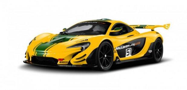 Машина радиоуправляемая 1:14 McLaren P1 GTR Rastar