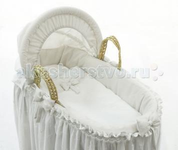 Колыбель  Корзина плетёная с капюшоном Premium Baby Fiorellino