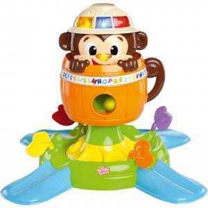 Развивающая игрушка Обезьянка в бочке, Bright Starts Kids II