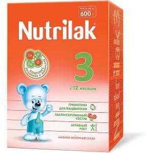 Молочный напиток  3, с 12 мес, 600 г Nutrilak