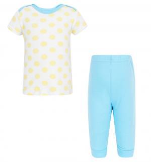 Комплект футболка/брюки , цвет: желтый Luvable Friends