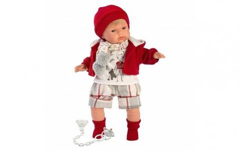 Кукла Саша 38 см со звуком Llorens