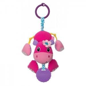 Подвесная игрушка  прорезыватель Дрожащий бегемотик Infantino