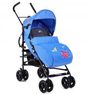 Коляска-трость  S-3800, цвет: синий/серый Lider Kids