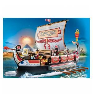 Конструктор  Римляне и Египтяне Корабль Римских воинов Playmobil