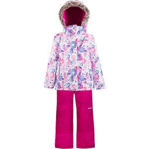 Комплект : куртка, полукомбинезон Zingaro by Gusti. Цвет: белый