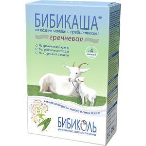 Каша  гречневая на козьем молоке с 4 мес Бибиколь