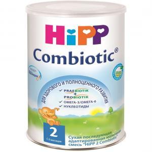 Молочная смесь  Combiotik 2 с 6 месяцев, 800 г Hipp