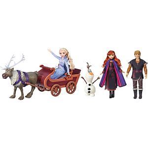 Игровой набор Disney Princess Холодное сердце 2 Путешествие на санях Hasbro. Цвет: разноцветный
