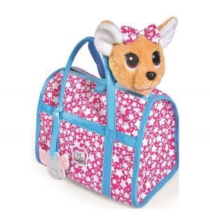 Мягкая игрушка  Собачка Звёздный стиль, с сумочкой 20 см Chi Love