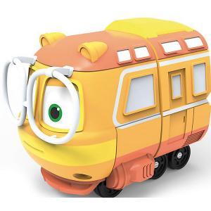 Коллекционный паровозик Silverlit  Джинни Robot Trains. Цвет: разноцветный