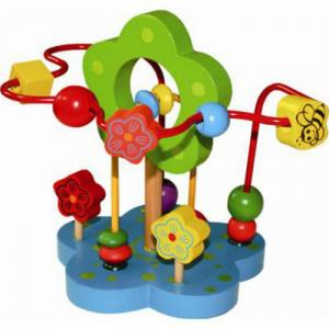 Деревянная игрушка  Лабиринт Цветочек QiQu Wooden Toy Factory