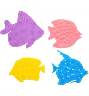 Набор мини-ковриков  Микс Рыбки Valiant