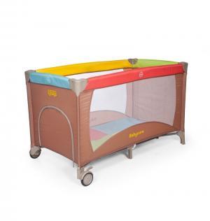 Манеж Arena, цвет: коричневый Baby Care