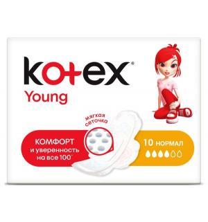 Прокладки  Young Normal, 10 шт Kotex