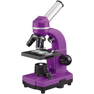 Микроскоп  Junior Biolux SEL, 40–1600x, фиолетовый Bresser. Цвет: фиолетовый