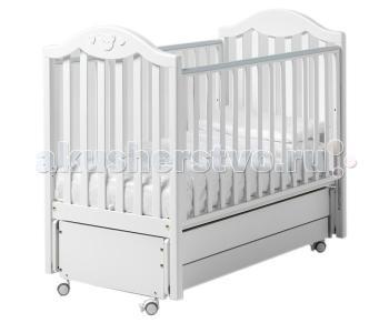 Детская кроватка  Didi cо стразами маятник Baby Italia