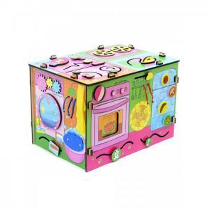 Деревянная игрушка  Бизиборд Я-хозяюшка Фабрика Мастер игрушек