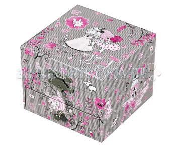 Музыкальная шкатулка-куб Alice Trousselier