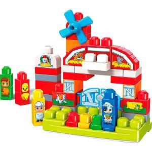 Конструктор Mega Bloks First Builders Музкальная ферма, 46 деталей