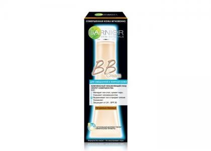BB-крем Секрет Совершенства для смешанной и жирной кожи Натурально-бежевый 40 мл Garnier