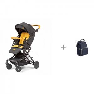 Прогулочная коляска  Modo с рюкзаком для мамы Yrban MB-104 в синей расцветке Giovanni