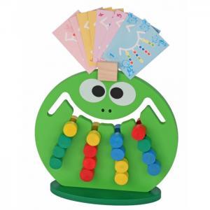 Деревянная игрушка  Логическая игра Лягушка Краснокамская