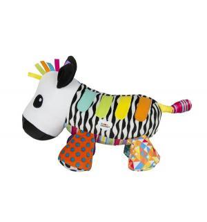 Интерактивная мягкая игрушка  Музыкальная зебра со звуком 21 см Tomy