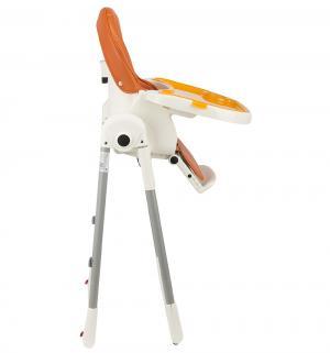 Стульчик для кормления  S-207, цвет: оранжевый Capella