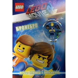 Сборник  LEGO Movie Бронебро, с мини-фигуркой Эксмо