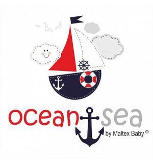 Ванночка  Ocean 84 см, цвет: голубой Maltex