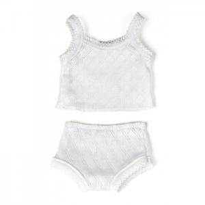 Одежда для куклы Undershirt & Panties 40 см Miniland