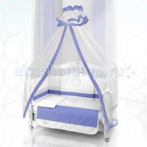 Комплект в кроватку  Unico Puntini 125х65 (6 предметов) Beatrice Bambini
