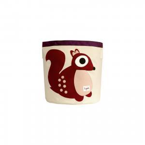 Корзина для хранения Белочка (Berry Squirrel), 3 Sprouts. Цвет: бежевый/коричневый