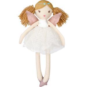 Мягкая игрушка  Кукла тильда: фея, 30 см, белая Angel Collection. Цвет: белый