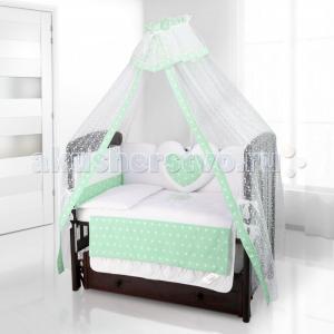 Комплект в кроватку  Cuore Stella (6 предметов) Beatrice Bambini