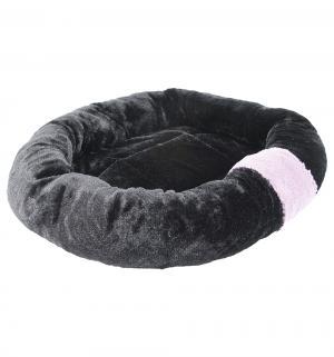 Лежанка для кошек  плюшевая, цвет: черный, 50*41*9.5см Beeztees
