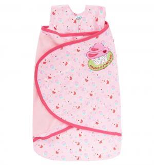 Конверт  36-48 см, цвет: розовый Happy baby days
