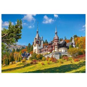 Пазл  Замок Пелеш, Румыния, 500 деталей Castorland