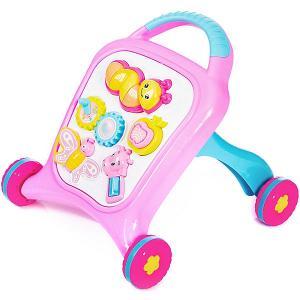 Игрушка-каталка  Move&Play Farm pink Baby Hit. Цвет: розовый