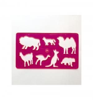 Набор фигурных трафаретов  Животные №3 Koh-I-Noor