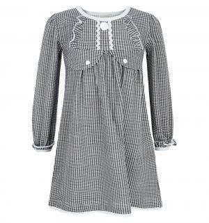 Платье , цвет: белый/черный Трифена