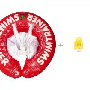 Круг для купания  Swimtrainer Classic и Weleda Детский шампунь-гель с календулой волос тела 200 мл Freds Swim Academy